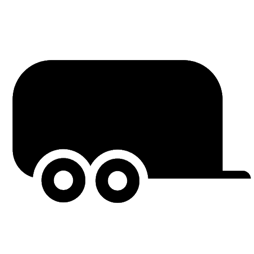 2 tons payload trailer